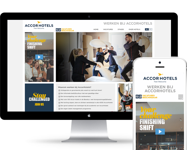 Nieuwe website voor AccorHotels Group